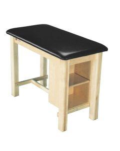 Armedica Wood Taping Table w/ Shelf AM624