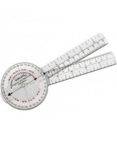 """Chattanooga Plastic 360° ISOM Plastic Goniometer - 8 """" (20 cm) 43059"""