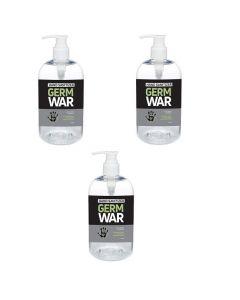 Germ War Hand Sanitizer 16.9 oz pump bottle