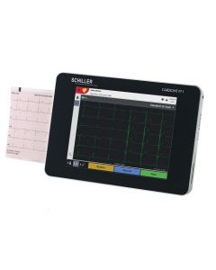 Schiller Cardiovit ECG / EKG Machine w/ ETM Software FT-1