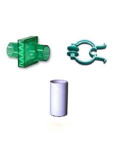 SDI Diagnostics Pulmoguard II filter Mouthpiece & Klip, 29-7925-080