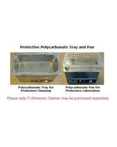 Sharpertek Polycarbonate Lube Pan for SH720-10G Ultrasonic Cleaner