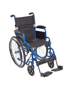 "Ziggo Lightweight Wheelchair 16"" Seat for Kids & Teens"